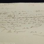 Draft of announcement to Governor Lowe of Napoleon's death made a few days earlier
