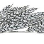 Wheat-ear tiara
