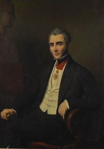 Emmanuel de Las Cases, sénateur, par Ary Scheffer, 1855 © Musée des beaux-arts d'Angers