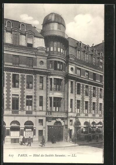 Hôtel des Sociétés Savantes, début XXe s. © DR