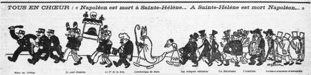 Caricature parue en une de L'Humanité, le 5 mai 1921 © BnF/Gallica