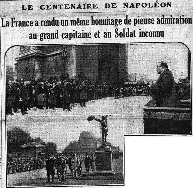 Une du Matin du 6 mai 1921 © BnF/Gallica