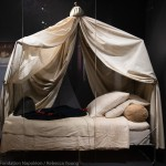 The camp-bed in which Napoleon died