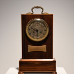 Mantle Clock at Longwood marking the hour of the Emperor's death