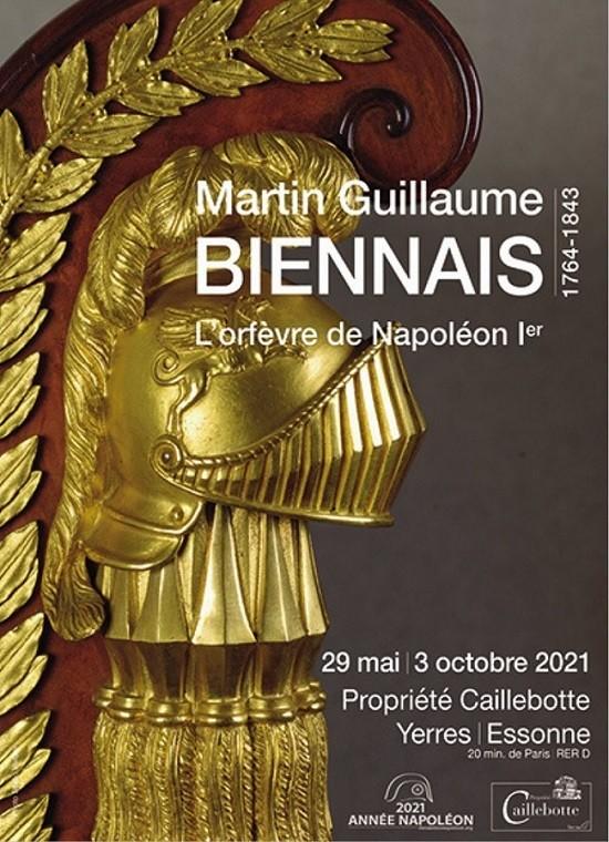 2021 Année Napoléon – Martin Guillaume Biennais, l'orfèvre de Napoléon Ier
