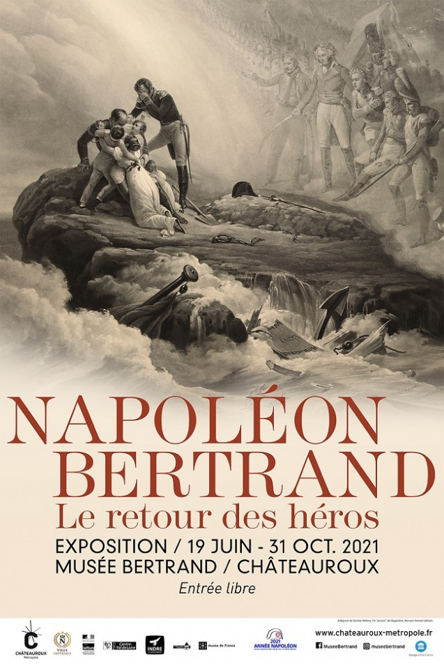 Napoleon and Bertrand, the return of the heroes