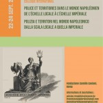 Police and Territories in Napoleonic Europe: local and imperial perspectives