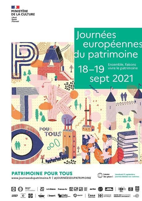 Journées européennes du Patrimoine 2021, 38e édition
