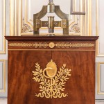 Les presses à sceller, Grande Bibliothèque – Bureau du ministre de la Justice