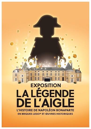 La légende de l'Aigle. L'histoire de Napoléon Bonaparteen briques LEGO® et œuvreshistoriques