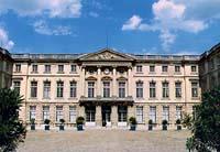 Château de Compiègne - La cour d'honneur © Fondation Napoléon