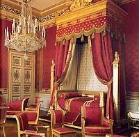 Château de Compiègne - La chambre de Napoléon Ier © RMN