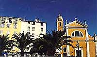 La cath�drale d'Ajaccio � Fondation Napol�on