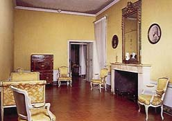 The room in which Napoleon was born