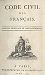 <i>Le Code Civil des Fran�ais 1804 � Fondation Napol�on</i>