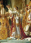 <i>The coronation of Napoleon I (detail) � RMN </i>