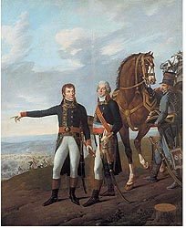 <i>General Bonaparte and General Berthier<br> � Fondation Napol�on - Patrice Maurin-Berthier</i>