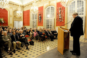 Victor-Albert Mass�na, Prince d'Essling, presided over the ceremony � Fondation Napol�on