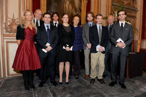 The awardees, H.I.H. the Princess Napoleon and the Prince d'Essling � Fondation Napol�on