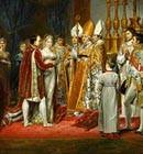 <i>The religious marriage of Napoleon I and Marie-Louise..., by G. Rouget � RMN</i>