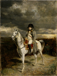 Napoleon in 1814, Ernest Meissonier � Walters Art Museum, Baltimore, USA